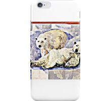 Mr. & Mrs. Polar Bear iPhone Case/Skin