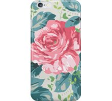 Vintage Carefree Roses iPhone Case/Skin