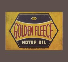 Golden Fleece Motor Oil by Museenglish