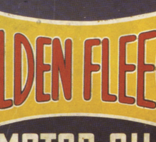 Golden Fleece Motor Oil Sticker
