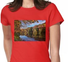 First Breath Of Autumn  Womens Fitted T-Shirt