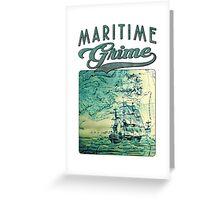 Briney Ocean Tossed Greeting Card