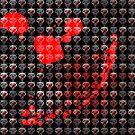 Wolves Pattern by creepyjoe