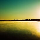 Sunrise near Mannum by Andre Gascoigne