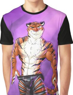 Dancing Tiger Graphic T-Shirt