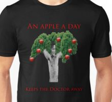 An Apple a day keeps Doctor Who away!  Unisex T-Shirt