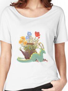 Jasmine Tea Dragon Women's Relaxed Fit T-Shirt