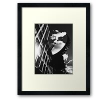 Urban Light Framed Print