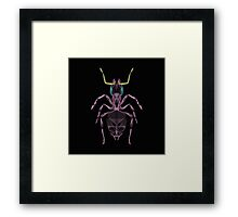 Ant Line Art Illustration Framed Print