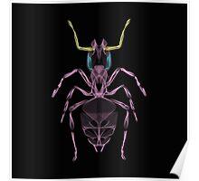 Ant Line Art Illustration Poster