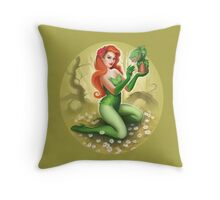 Pretty Poison Throw Pillow