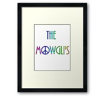 The Mowgli's - peace n' rainbows Framed Print