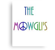 The Mowgli's - peace n' rainbows Canvas Print