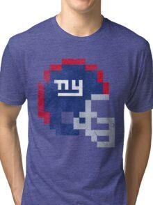 NYG - Helmet Tri-blend T-Shirt