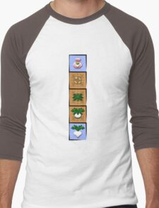 Digital Farmer Men's Baseball ¾ T-Shirt