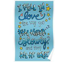 Fell In Love Poster