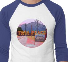 Welcome to Twin Peaks Men's Baseball ¾ T-Shirt