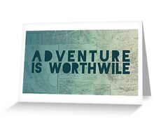 Aristotle: Adventure Greeting Card