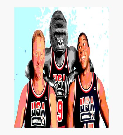 Harambe the real dream team Photographic Print