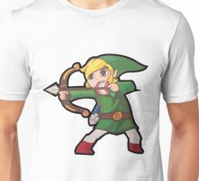 Crouching Bow Hidden Link Unisex T-Shirt
