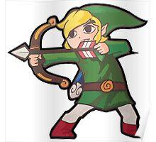 Crouching Bow Hidden Link Poster