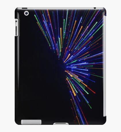 Colour burst - lines iPad Case/Skin