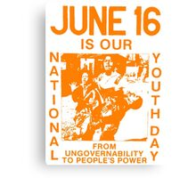 South Africa's Youth Day Canvas Print