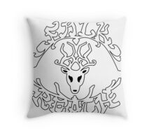"""""""1,000 bounty added to Falkreath Hold"""" Throw Pillow"""