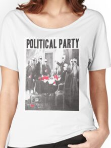 Political Party Shades & Red Cups Women's Relaxed Fit T-Shirt