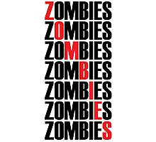 Zombies Photographic Print