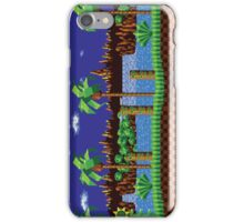 Green Hill Zone Vintage iPhone Case/Skin