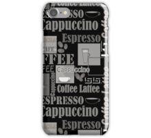 Abstract pattern . Coffee . iPhone Case/Skin