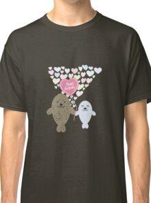 Happy Birthday Seals Classic T-Shirt