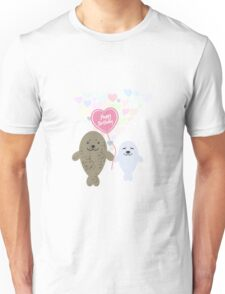 Happy Birthday Seals Unisex T-Shirt