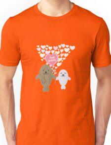 Happy Birthday Seals Unisex T-Shirt