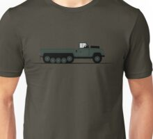 A Graphical Interpretation of the Defender Centaur Half Track Unisex T-Shirt