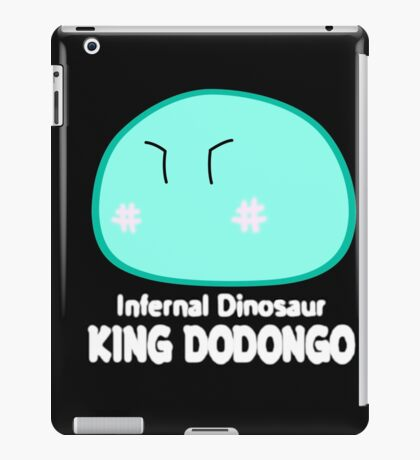 dodongo dango remix iPad Case/Skin