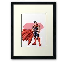 Hero - BarCode Framed Print