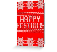 Happy Festivus! Greeting Card
