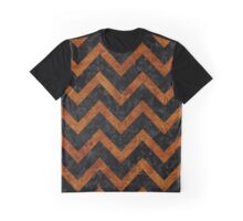 CHV9 BK-BR MARBLE Graphic T-Shirt