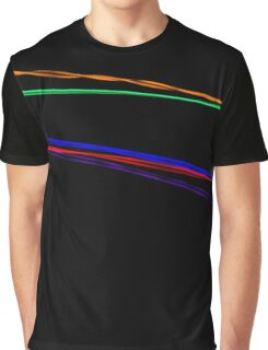 Lines of colour Graphic T-Shirt