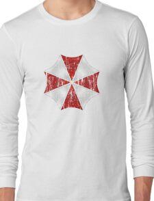 Umbrella Corp Grunge Long Sleeve T-Shirt