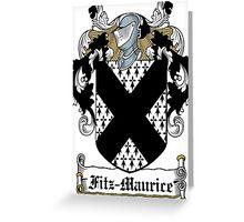 Fitz-Maurice  Greeting Card