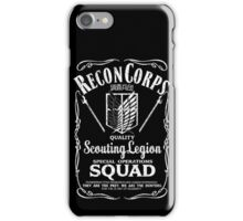 Quality Grade: Scouting Legion iPhone Case/Skin