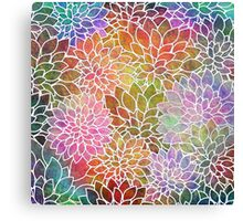 Floral Abstract #6 Canvas Print