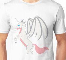 White Unicorn Dragon Unisex T-Shirt