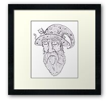 Grand Wizard Framed Print