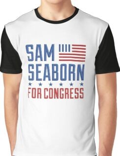Sam Seaborn For Congress Graphic T-Shirt