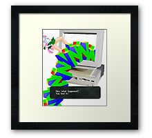 N64 Thing Framed Print