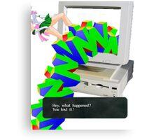 N64 Thing Canvas Print